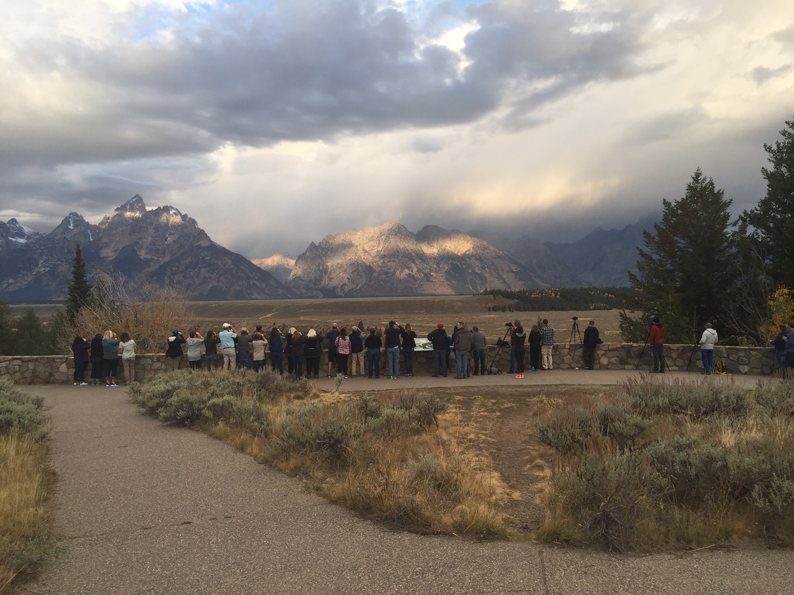 OPC Clients at Yellowstone